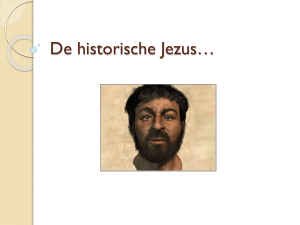 Powerpoint bronnen over Jezus.