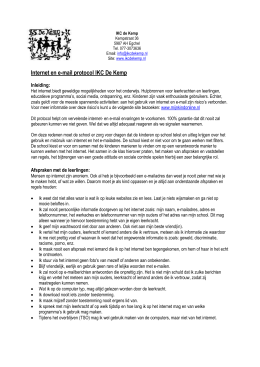 Notitie ICT - IKC De Kemp