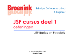 JSF Course part 1