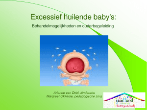 Excessief huilende baby`s