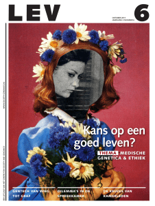 Kans op een goed leven? - CSG Centre for Society and the Life