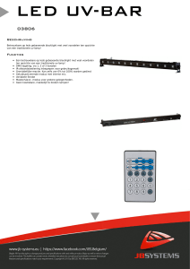 LED_UV-BAR PDF leaflet Nederlands