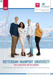 rotterdam mainport university - STC