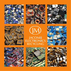 Jacomij Electronics Recycling