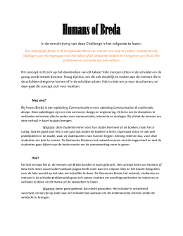 Humans of Breda - CityChallenges.nl