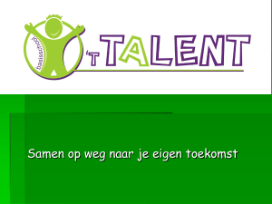 T TALENT van het kind!!!!