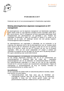 Persbericht Proces management - Ngi-NGN