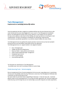 Twin-Management - De Adviseursgroep