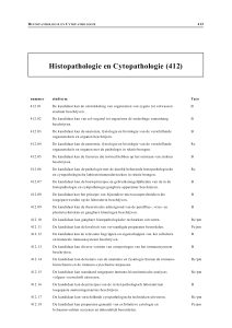 Histopathologie en Cytopathologie (412)