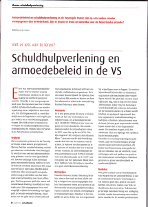 armoedebeleid in de VS