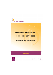 004 Beademingspatiënt intensive care