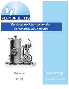 Rapportage - VLCounseling