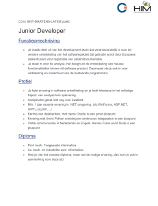 Junior Developer