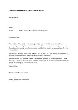 voorbeeldbrief salarisaanpassing Voorbeeld ondernemingsovereenkomst voorbeeldbrief salarisaanpassing