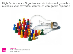 High Performance Organisaties