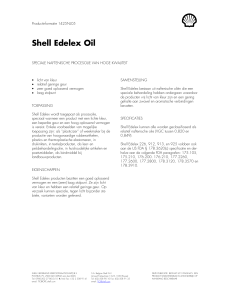 Shell Edelex Oil