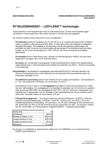 R718/LEDN0405SX1 – LED+LENS™ technologie