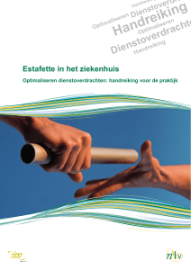 Handreiking - Nederlands internisten vereniging