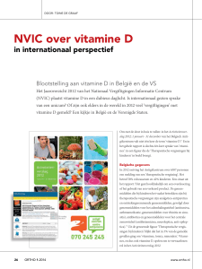 NVIC over vitamine D