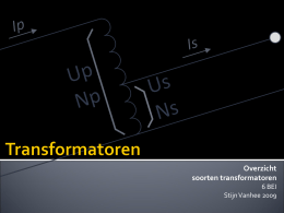 Transformatoren - stijnvanhee.be