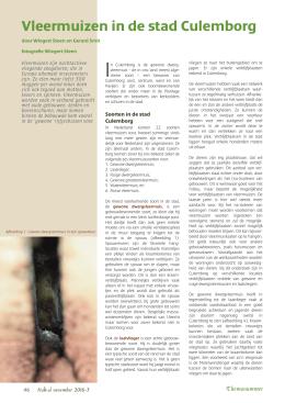 onderzoek vleermuisvriendelijke verlichting