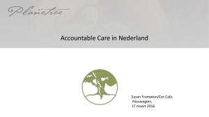 Accountable Care in Nederland