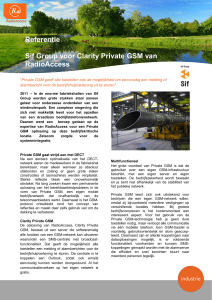 Referentie Sif Group voor Clarity Private GSM van