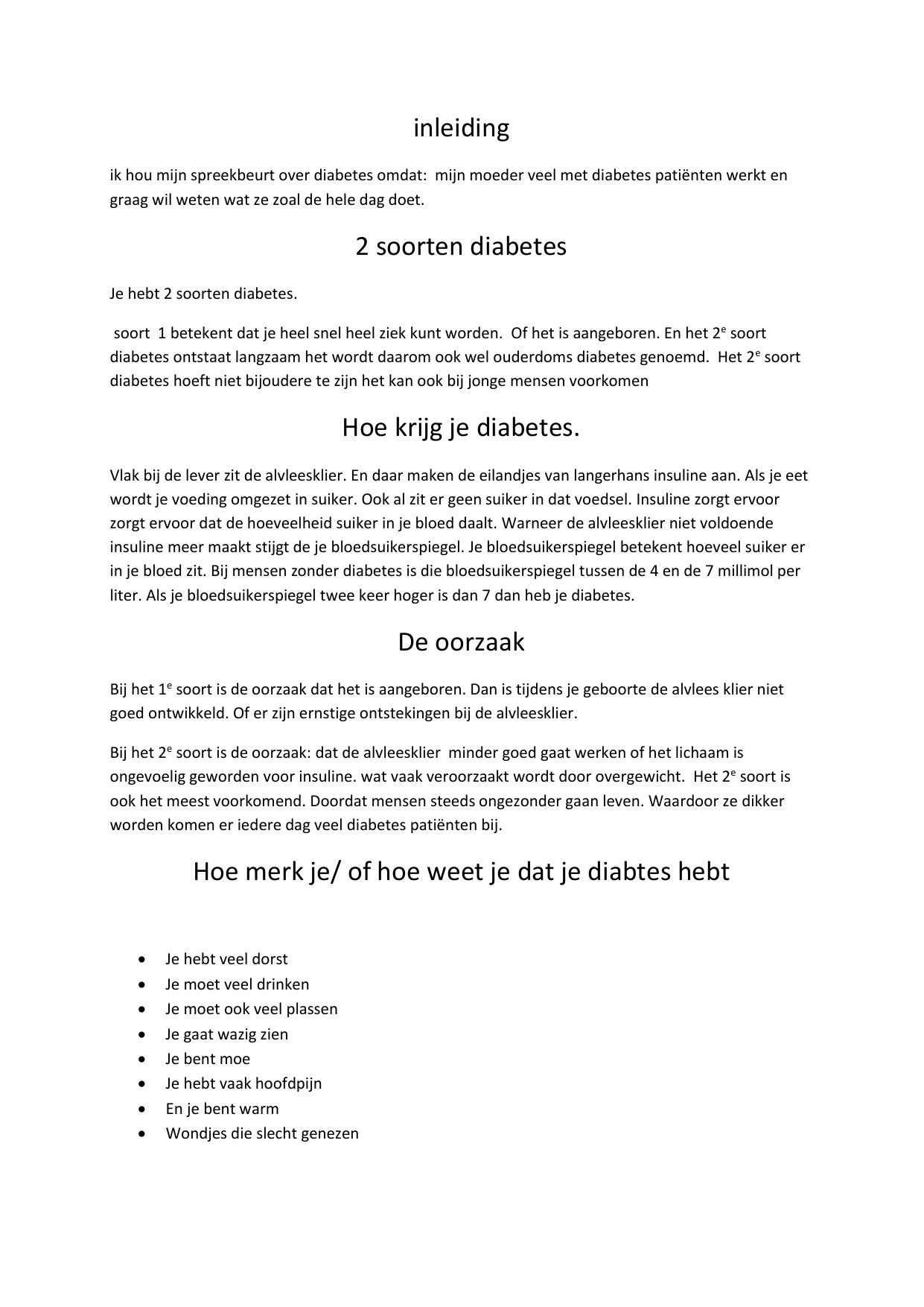 waarom veel plassen diabetes