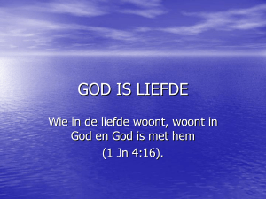 GOD IS LOVE - holyhome.nl
