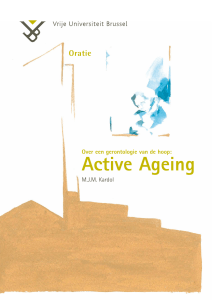 Active Ageing - Stichting Vughterstede