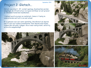 Project 2: Gletsch…