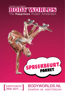 Spreekbeurt - Body Worlds