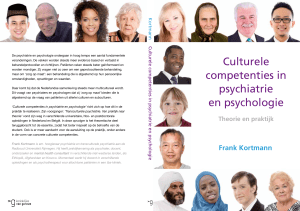 Culturele competenties in psychiatrie en psychologie