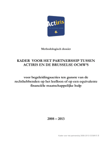 het methodologisch dossier downloaden