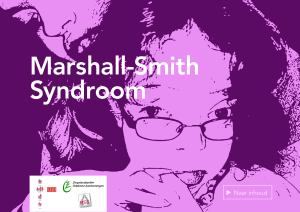 Zorgstandaard - Marshall Smith Syndrome Research Foundation
