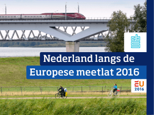 Nederland langs de Europese meetlat 2016