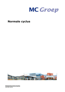 Normale cyclus