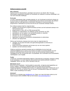 Software-engineers Java/J2EE