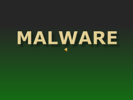 Wat is malware?