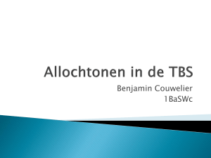 Allochtonen in de TBS