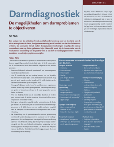 darmdiagnostiek - Natura Foundation