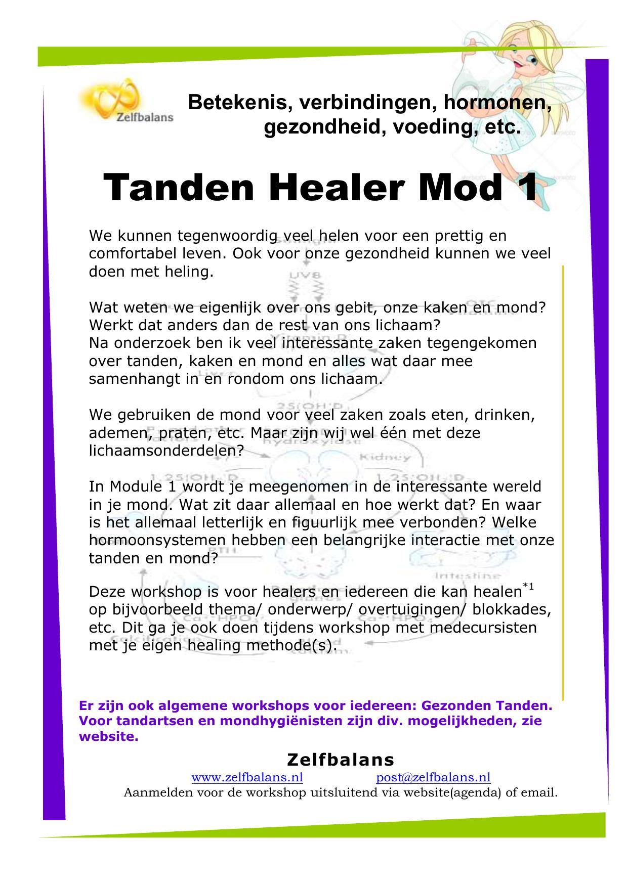 Tanden Healer Mod 1