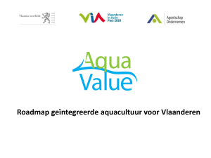 PowerPoint Presentation - Aquacultuur vlaanderen