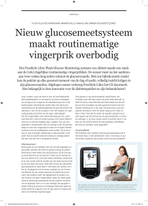 Advertorial glucosemonitor Abbott versie