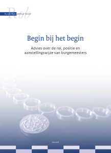 Begin bij het begin - Rob-Rfv