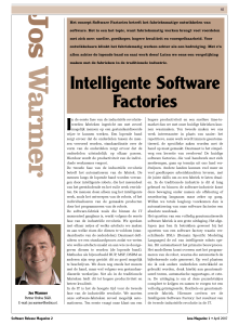 Intelligente Software Factories