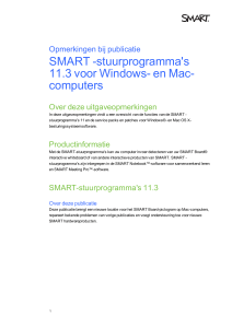 SMART Product Drivers 11.3 for Windows and Mac computers