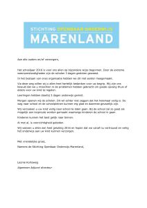 Brief Marenland