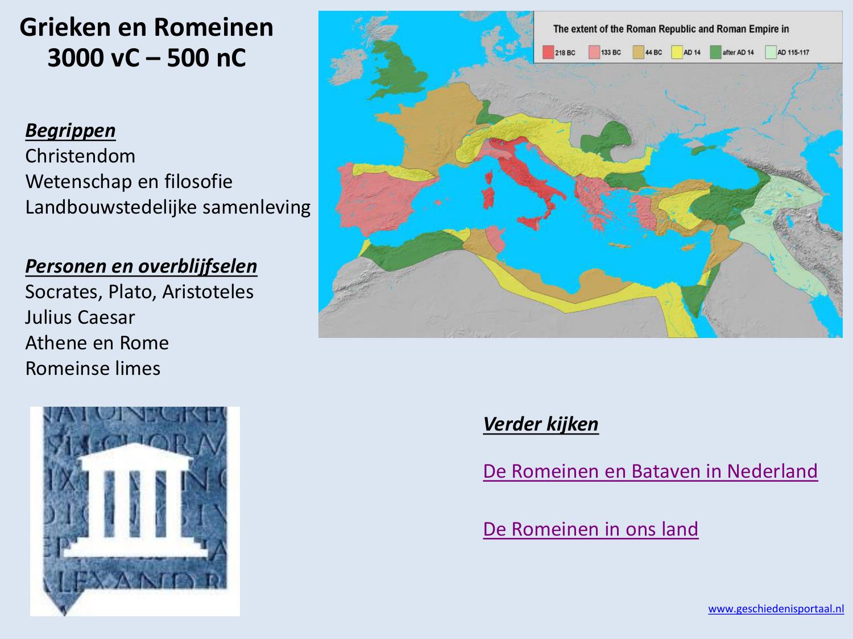 Ongebruikt Grieken en Romeinen 3000 vC – 500 nC CH-23