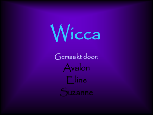 Wicca - Digischool